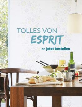 Tapeten und Mehr aus der Kollektion von Esprit