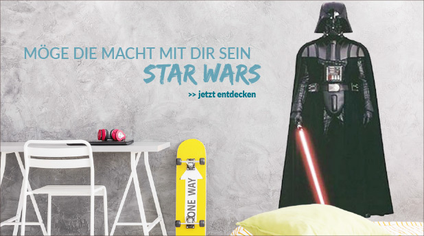 Star Wars Deko Motive