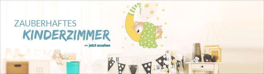 Dekorative Wandtattoos für's Kinderzimmer