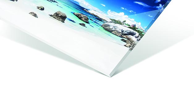 Materialbeschreibung Acrylglas Vorderseite
