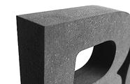 Oberflächenqualität bei MDF Dekobuchstaben