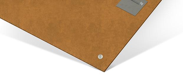 Materialbeschreibung HDF Wandbild Rückseite