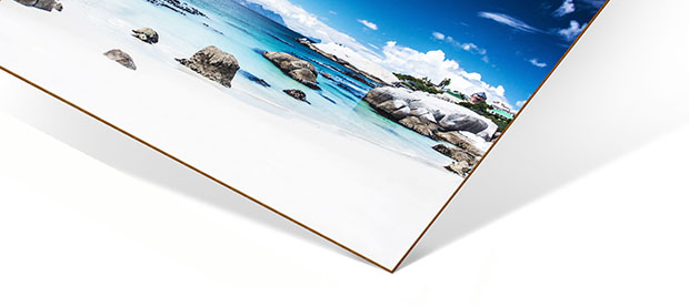 Materialbeschreibung HDF Wandbild Vorderseite
