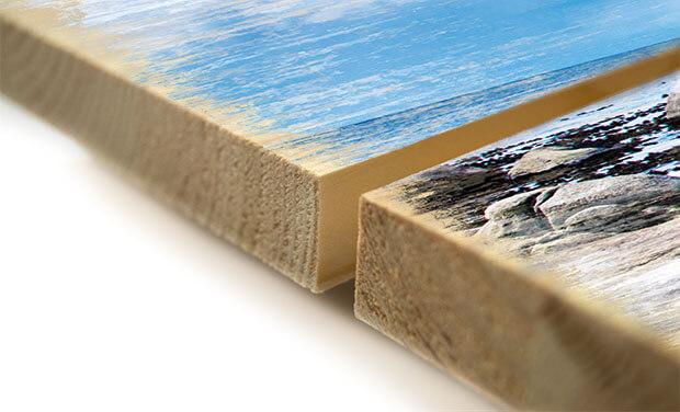 Materialbeschreibung Holzbild Vorderseite