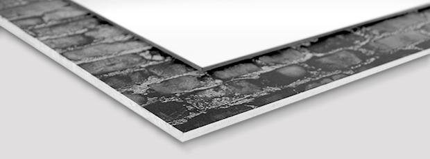 Materialbeschreibung Spiegel und Board